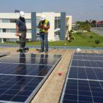 Toiture solaire industrielle - 30 kWc
