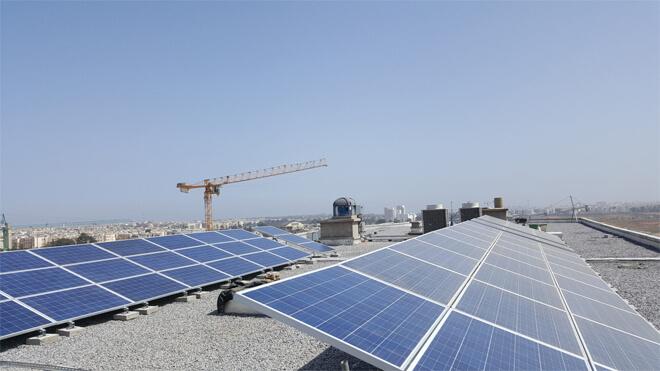 toiture solaire université