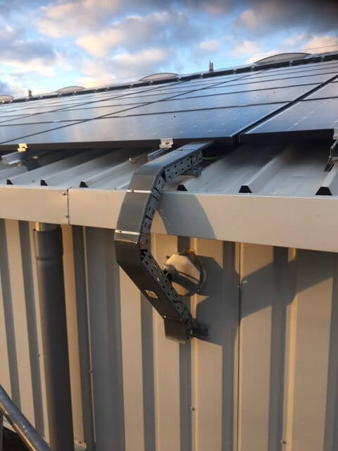 toiture solaire zoo réalisation