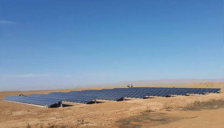 centrale hybride solaire